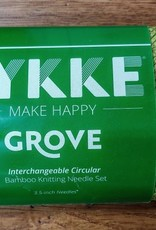 """Lykke Lykke 3.5"""" I/C Needle Set Grove"""