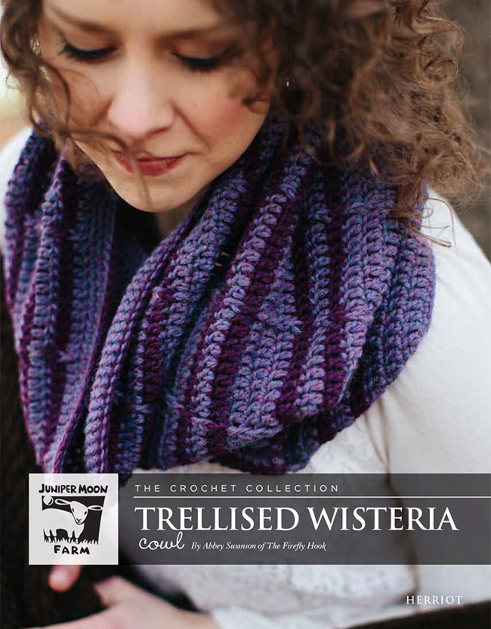 Safer At Home Trellised Wisteria Pattern Free with Required Yarn