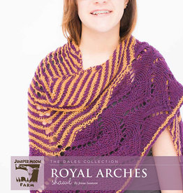 Safer At Home Royal Arches Pattern Free with Required Yarn