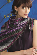 Hyacinth Stitch Shawl in Silk Garden Lite