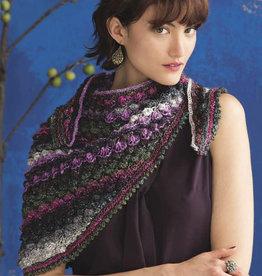 Hyacinth Stitch Shawl in Silk Garden Lite