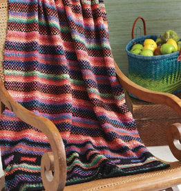 Woven Stitch Blanket in Taiyo/Cozy Soft Chunky