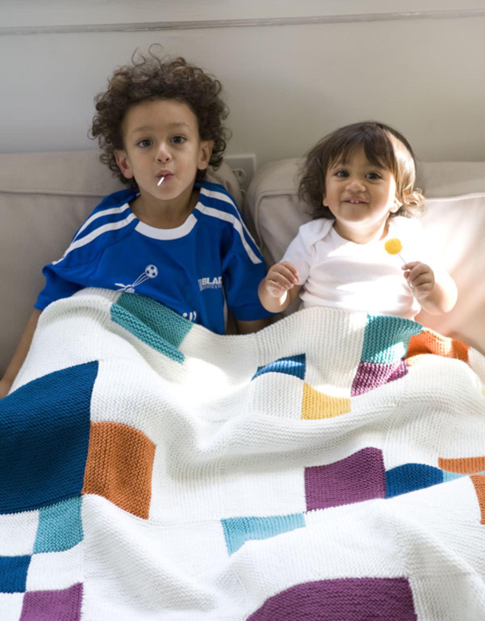 Berroco Moderne Blanket in Berroco Comfort