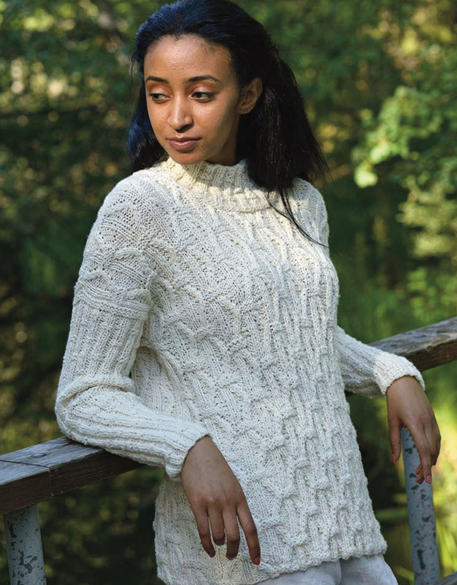 Rikki Sweater in Misty Wool