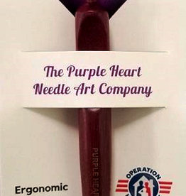 Purple Heart Ergonomic Crochet Hook