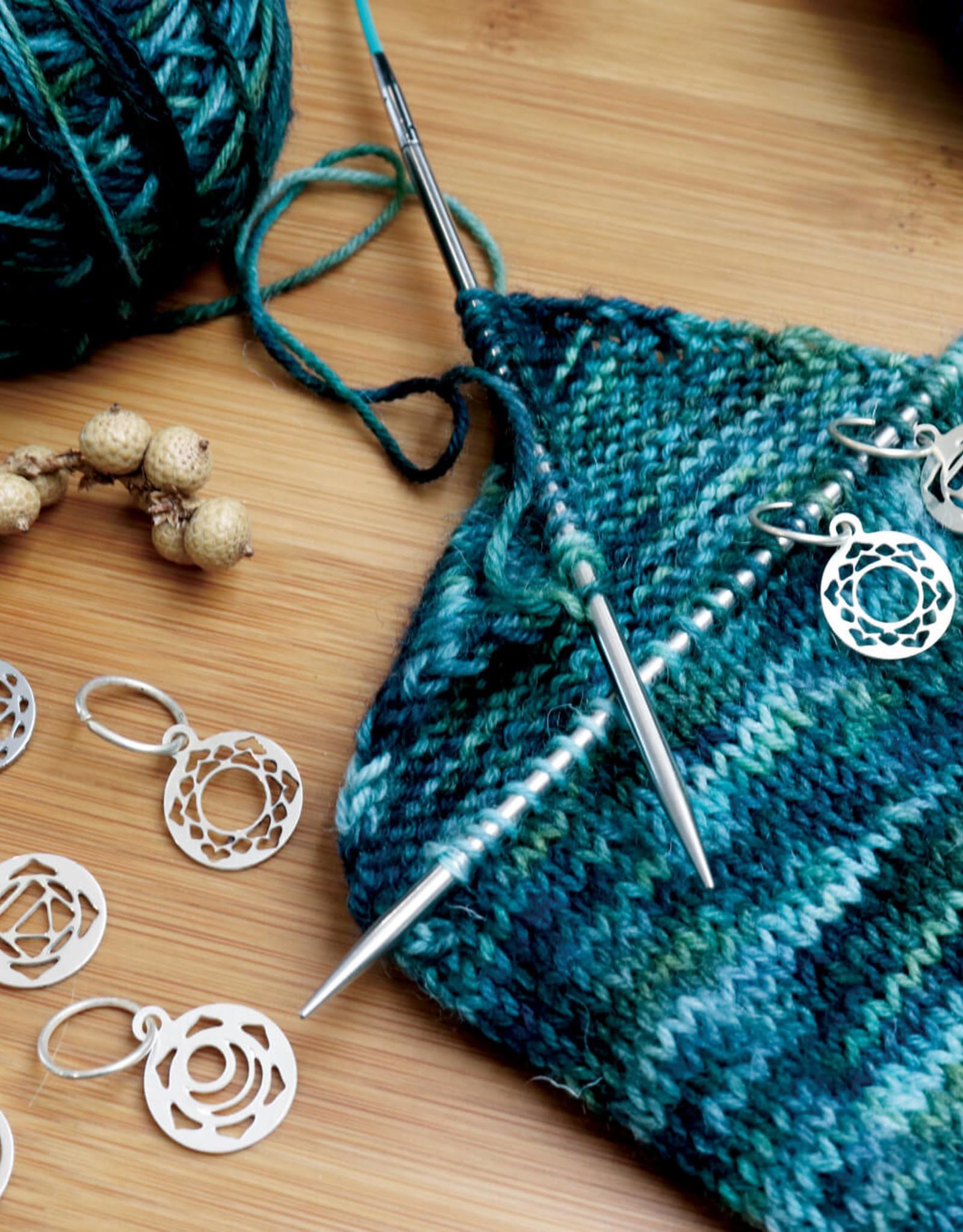 Knitters Pride Mindful Sterling Stitch Marker Set