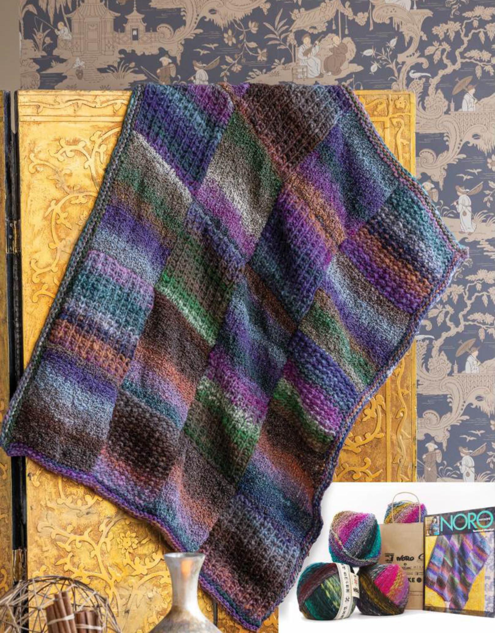 Textured Blanket in Bachi & Kanzashi