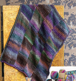 Textured Blanket in Bachi & Kanzashi