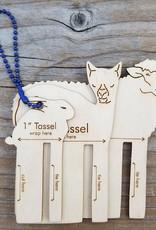 Set of 3 Tassel Maker
