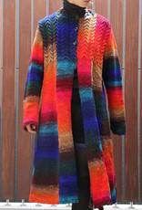 Cabled Coat in Kureopatora