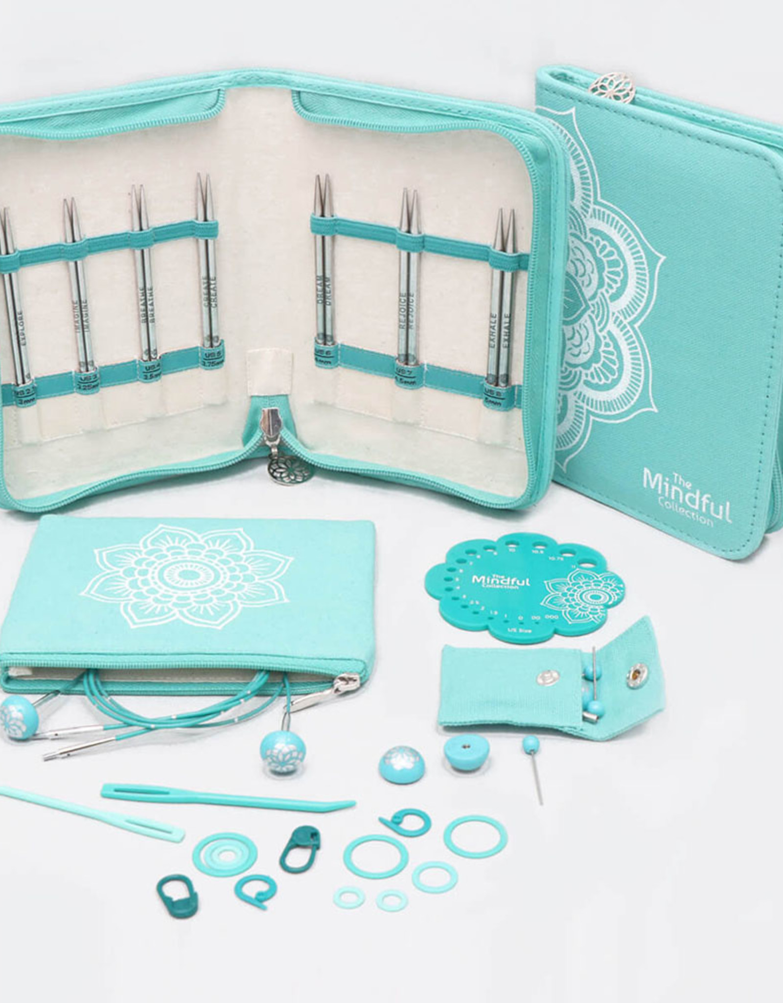 Knitters Pride Mindful - Believe - Interchangeable Needle Set 5inch (Small)