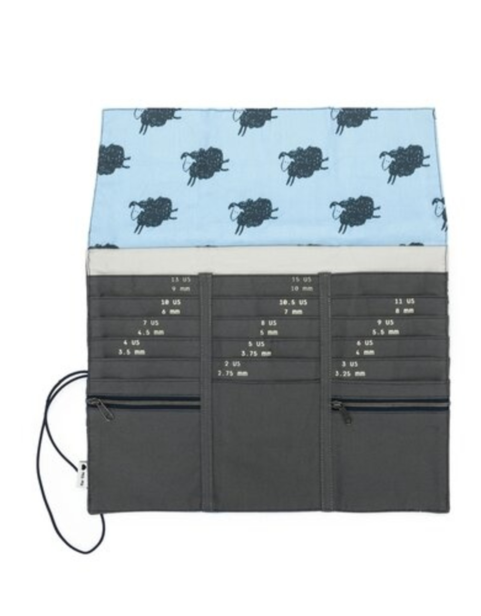 Della Q Tri Fold Circular Needle Case