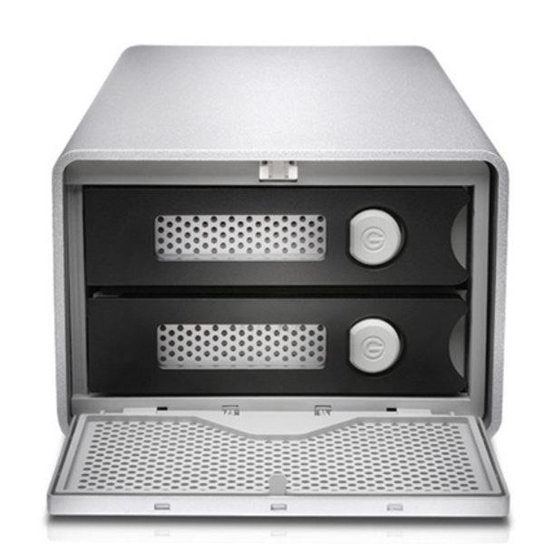 "G-Tech G-Tech G-Raid w/Thunderbolt 2, 20TB, 2-Bay Removable, 2xTB+USB 3.0 ""Customer Built"""