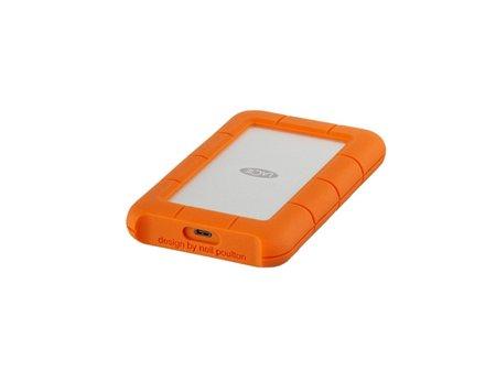 lacie Lacie Rugged USB-C 2TB (USB 3.0 Adapter)