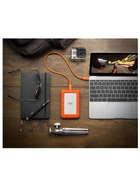 lacie LaCie Rugged 5TB USB-C (USB 3.0 Cable included)