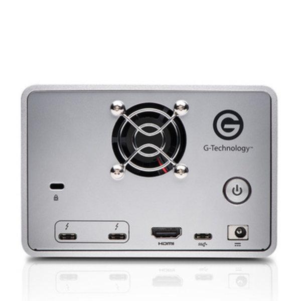 G-Tech G-Tech G-Raid w/Thunderbolt 3, 8TB, 2-Bay Removable, 2xTB3+USB-C/3.0+HDMI