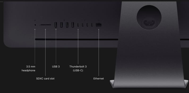 "Apple iMac Pro 27"" 3.0GHz 10C/64GB/1TB SSD/Vega64X w/16GB/E19"