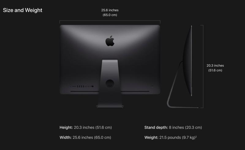 """iMac Pro 27"""" 2.3GHz 18C/64GB/1TB SSD/Vega 64 w/16/L17"""