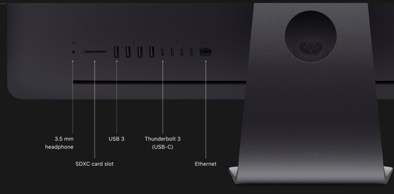 "Apple iMac Pro 27"" 2.3GHz 18C/2TB SSD/256GB/Vega 64X/Late 2017"