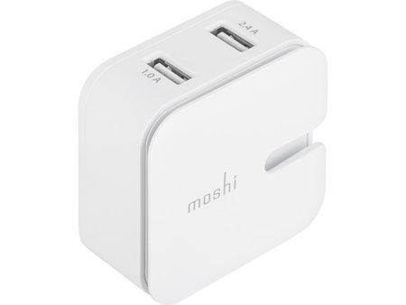 Moshi Moshi Rewind Dual USB Wall Charger