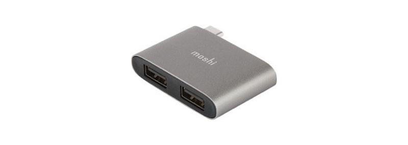 Moshi Moshi USB-C to Dual USB-A Adapter