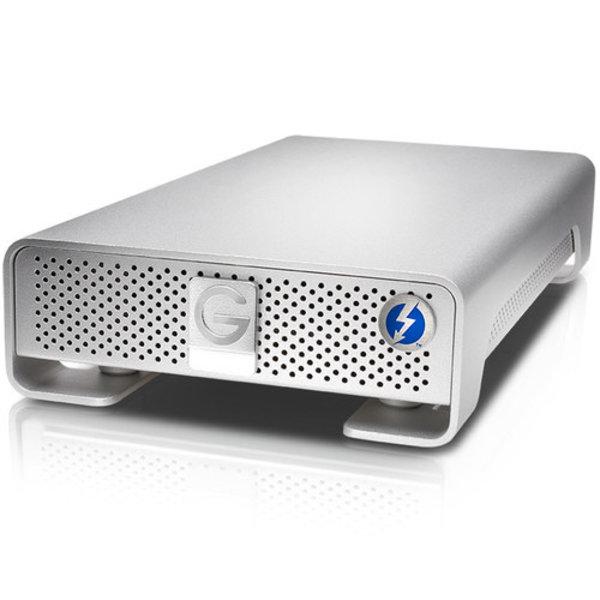 G-Drive w/Thunderbolt 3,  4TB 7200, 2xTB3+USB-C