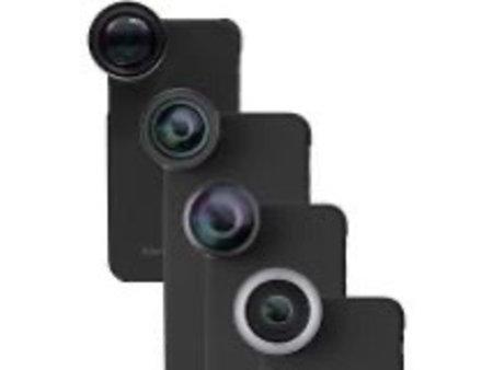 Apple iPhone Camera Lens Kit -20X Telephoto Lens + Fisheye Lens + Wide Angle Lens + Macro Lens + Zoom Lens