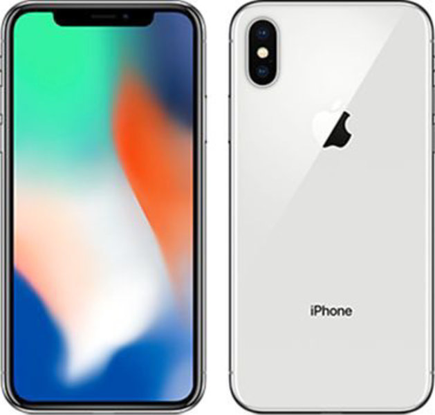Apple iPhone X / 64GB / Silver / T-Mobile