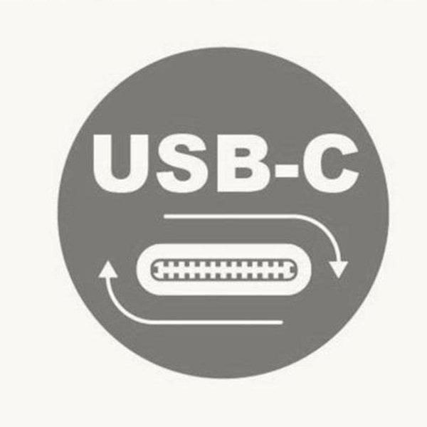 Macally Aluminum Ultra Slim USB-C Wired keyboard