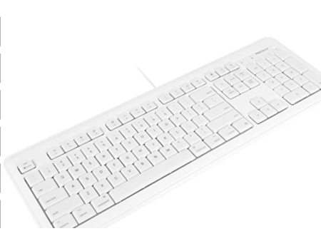 Macally LARGE PRINT 7-Color Backlit Full size USB keyboard