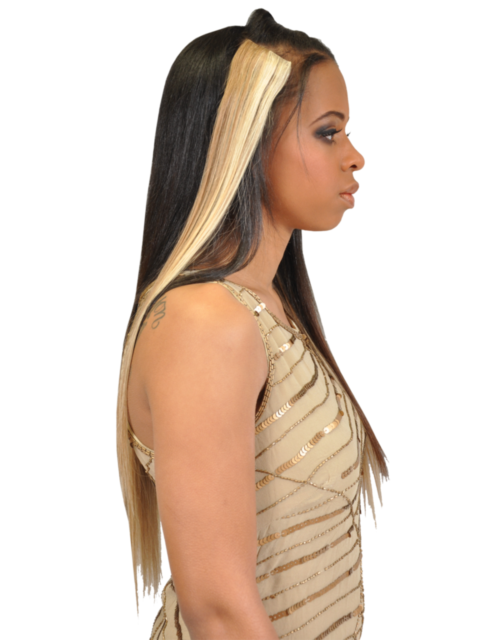 Fashion Source FASHION SOURCE STW 7PCS CLIP ON EXTENSIONS 14""