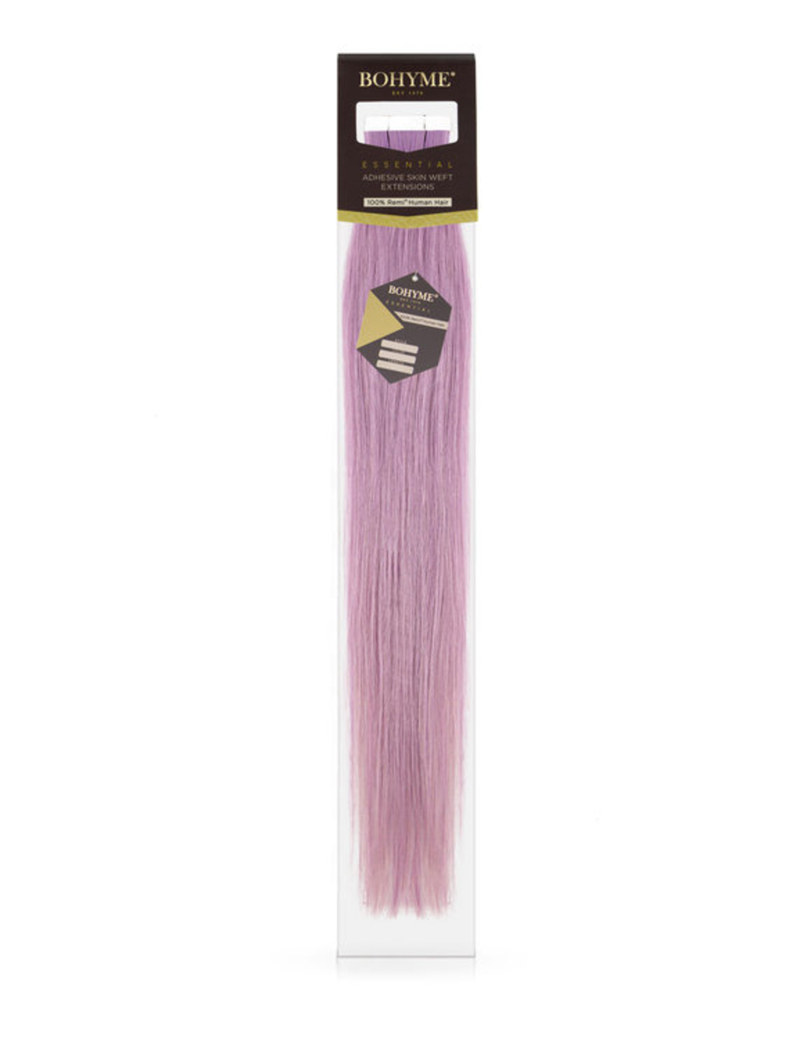 "Bohyme BOHYME ESSENTIAL SILKY STRAIGHT 1.5"" TAPE-INS"