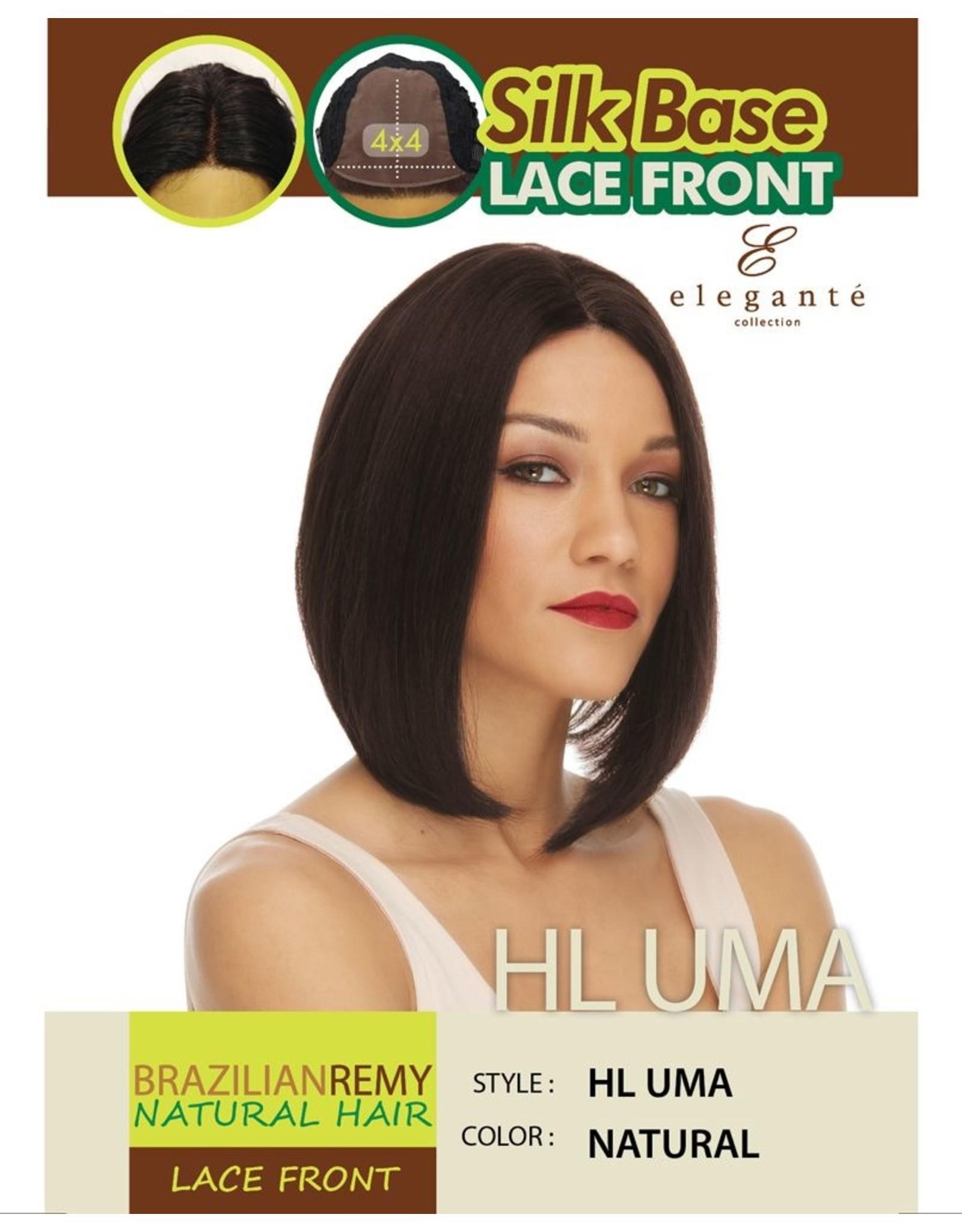 Elegante BRAZILIAN L/F HL UMA #NATURAL