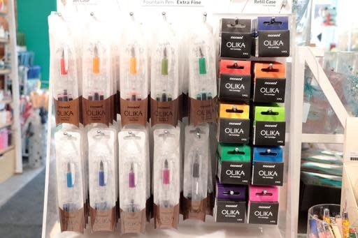 Olika Monami Fountain Pen (various colours)