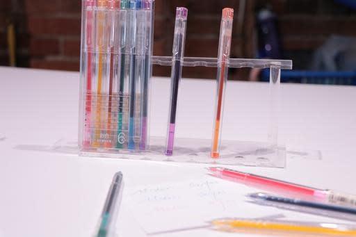 AGPA9205 6 Color 0.5 Gel Ink Pen