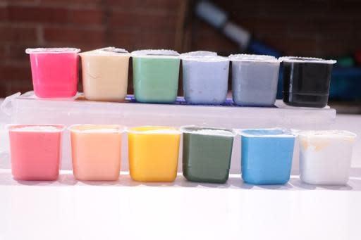 12 SetAPL97667 Gouache Jelly Paint