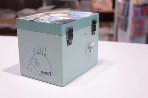 Totoro Square Music Jewellery Box