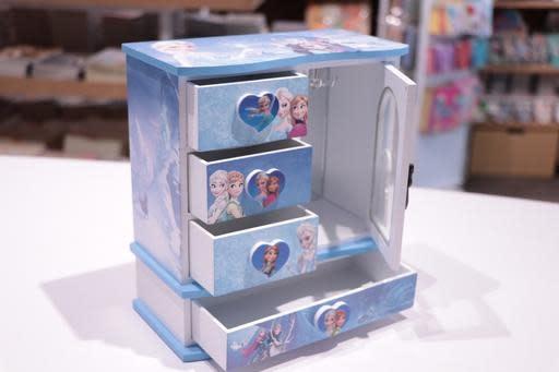 Frozen Princess Closet Rectangle Jewellery Box