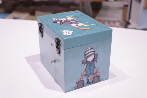 Girl Jewellery Box
