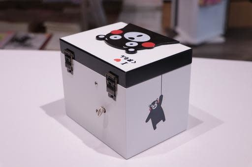 Kumamon Square Music Jewellery Box