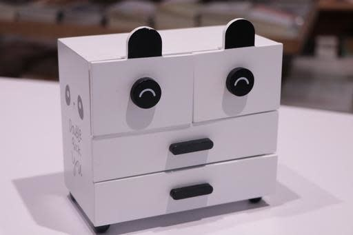 Panda jewellery box