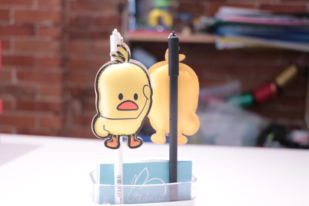 HS2760 little yellow duck Gel Ink Pen