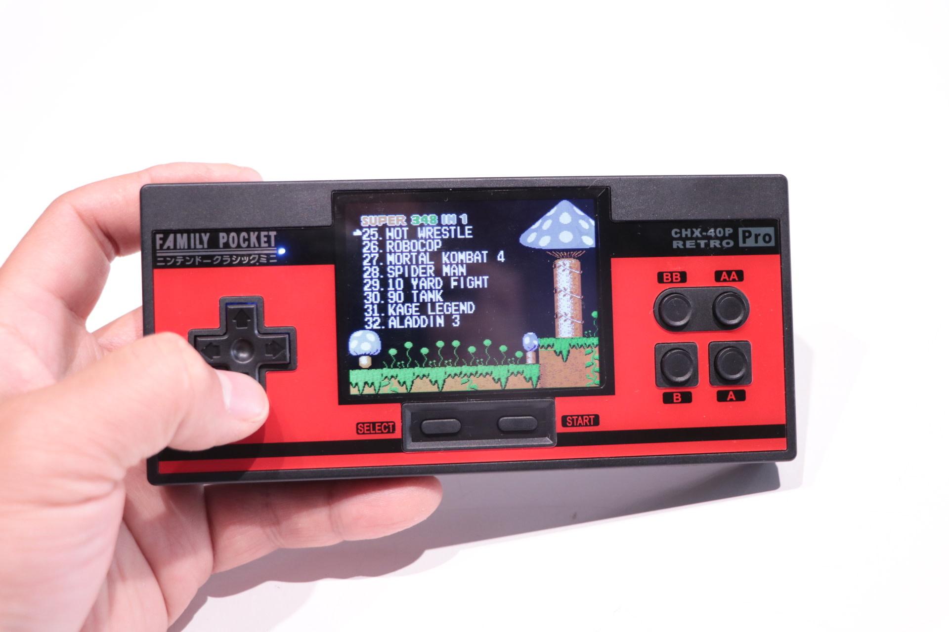 CHX-40P Retro PRO Game 348