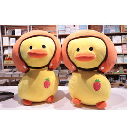Yellow Duck in Helmet 45cm