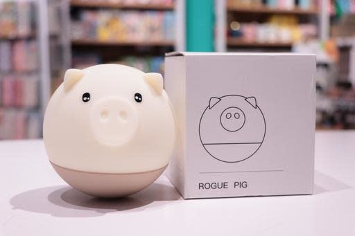 Round Pig Lamp