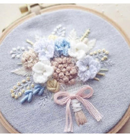 520657789 Flower Bouquet DIY Embroidery