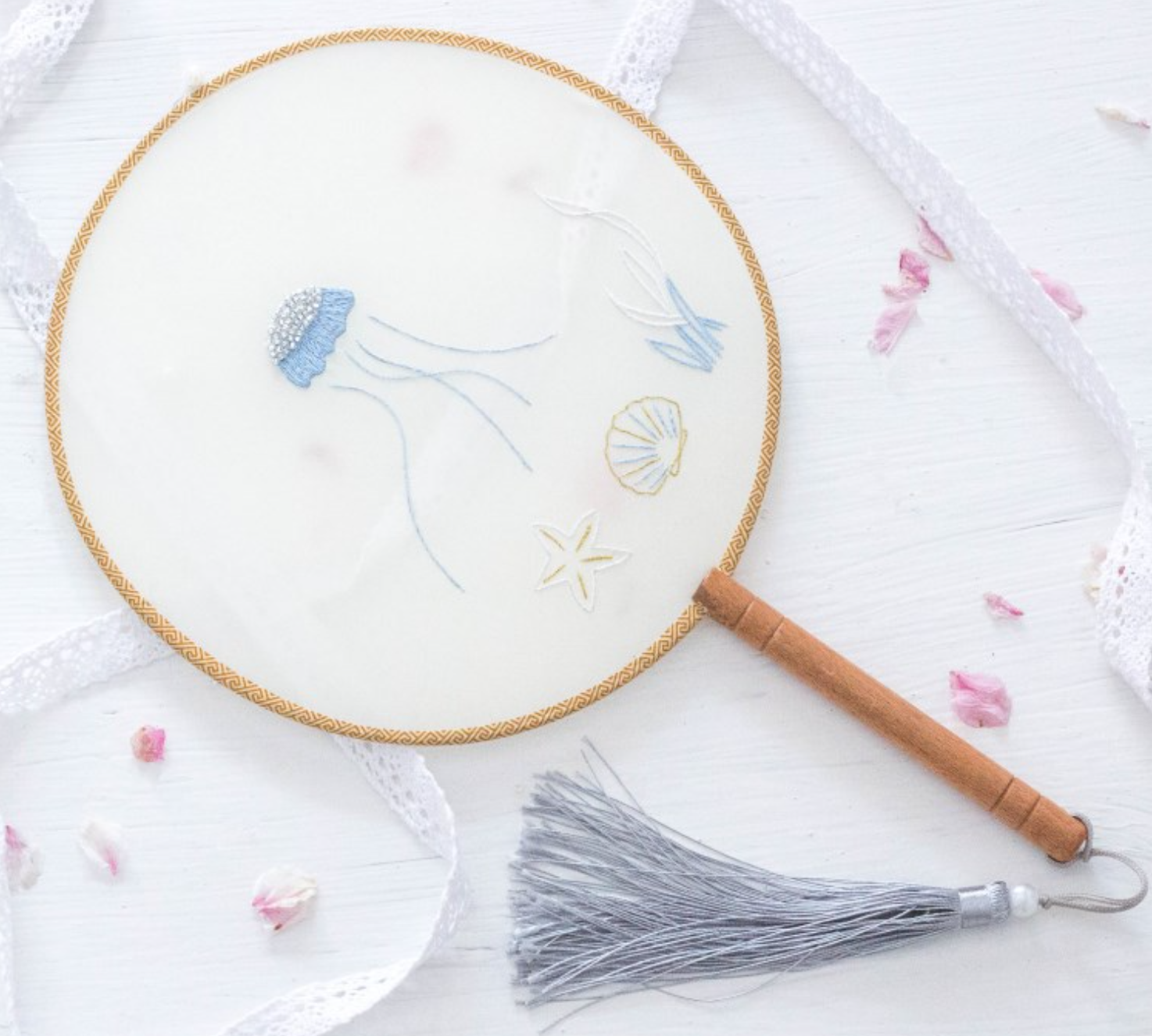 116 Jellyfish DIY Embroidery