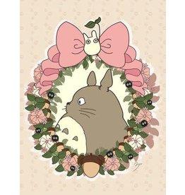 Totoro DIY Cross Stitch 25*35cm