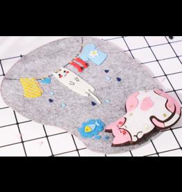 DIY Cat Mousepad