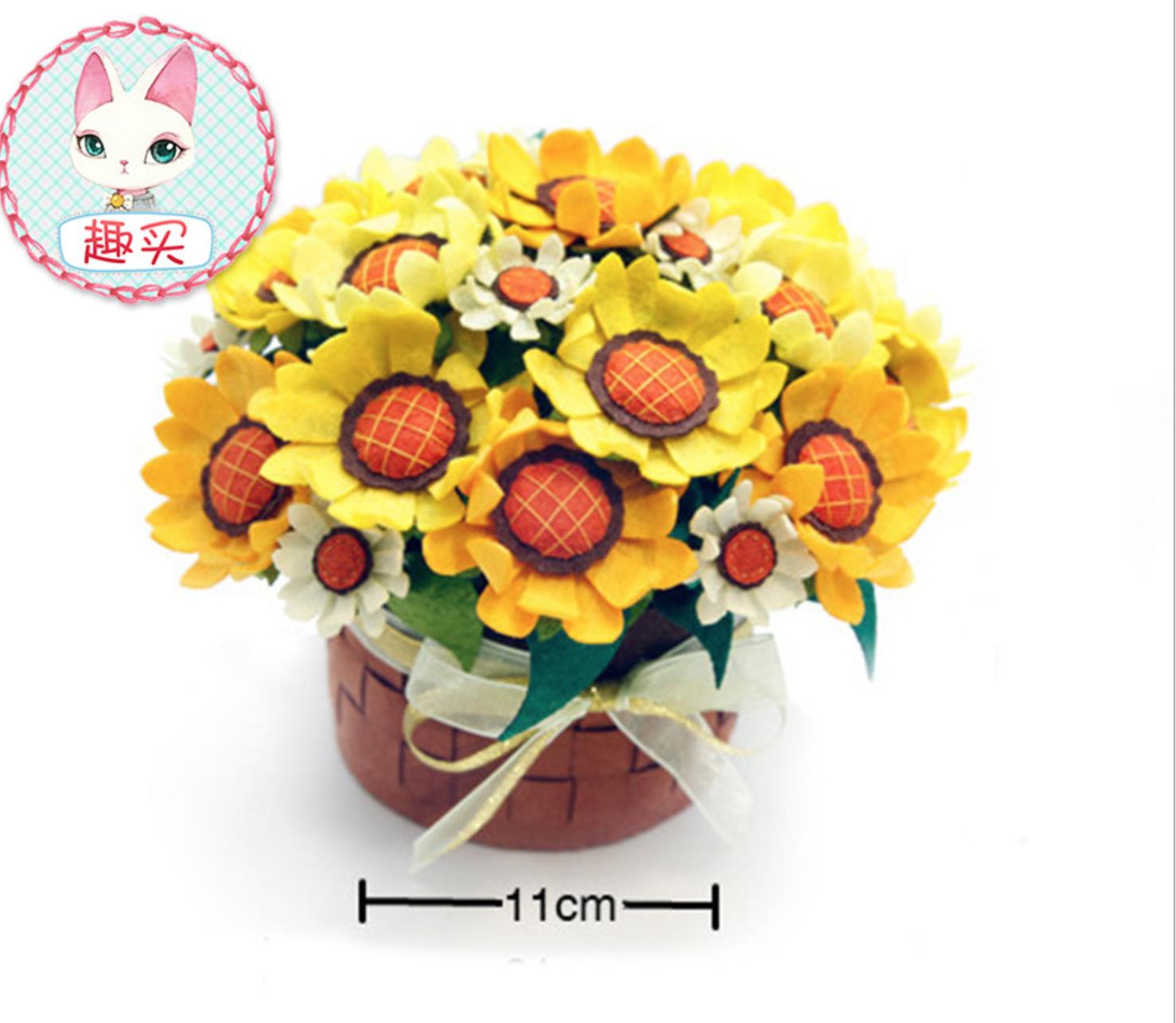 DIY Sunflower Bouquet